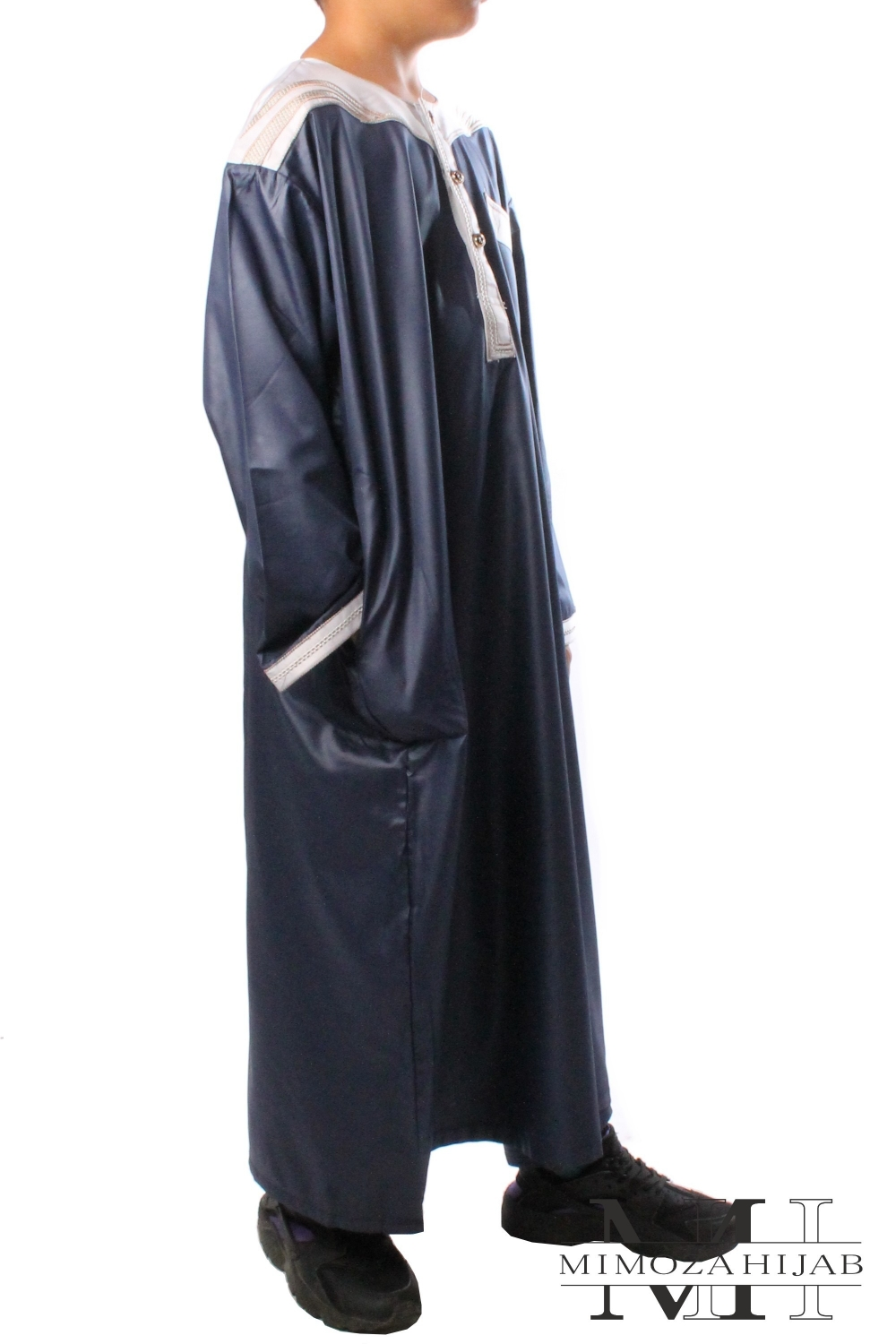 Together qamis length and pants for boy