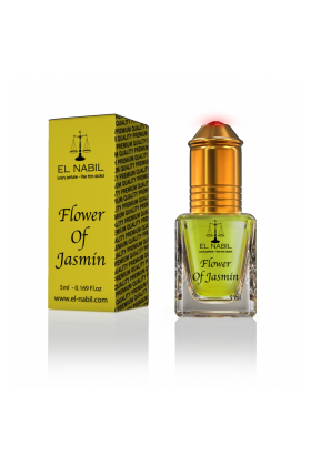 Musc El Nabil Flower Of Jasmin Sans Alcool