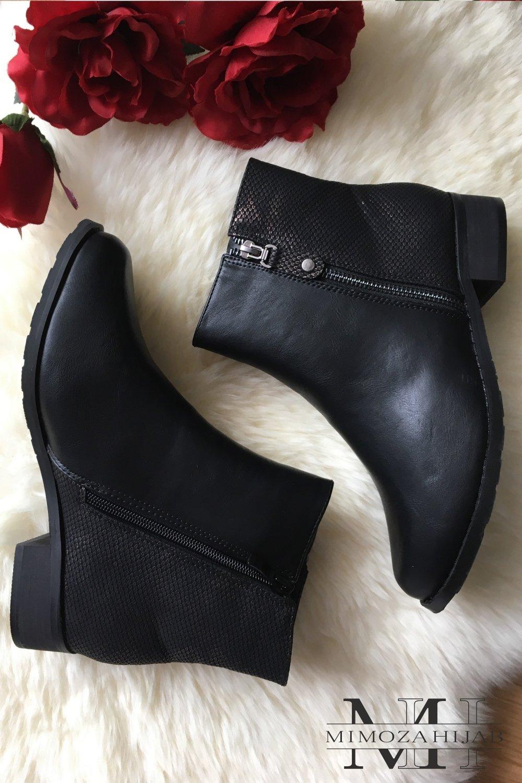 Croco Boots bicolors