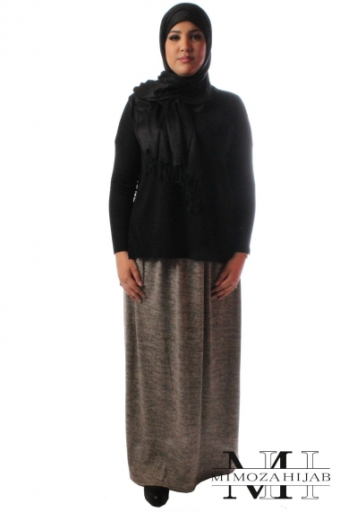 Long winter skirt