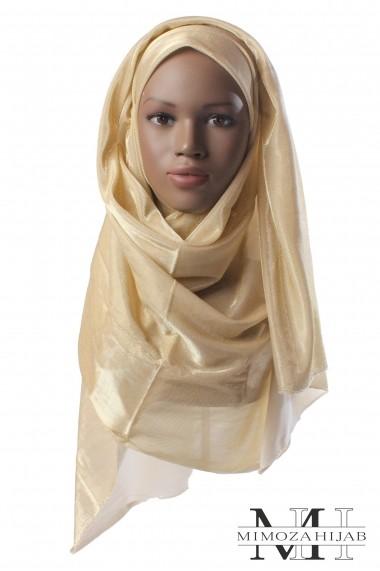 Hijab effet métalisé