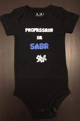 Body Professeur de Sabr mixte pour bébé