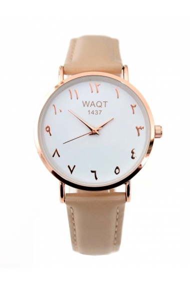 Jihane Arabic numerals watch Waqt1437