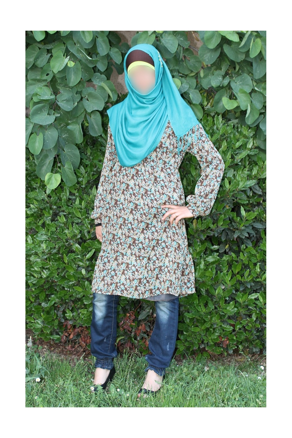 Printed Tunic flower