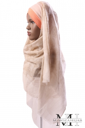 Maxi Hijab printed lace