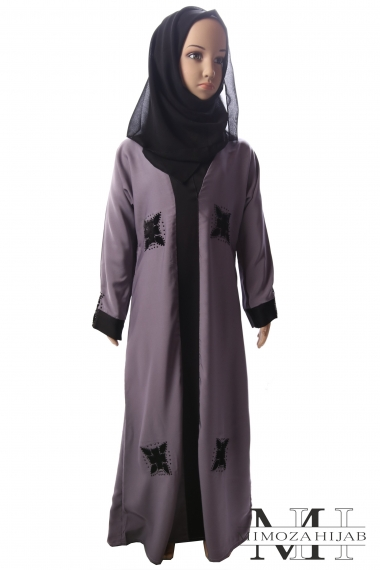 Abaya Nidha for Muslim Girl with Scarf