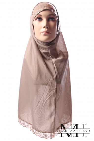 Hijab 2 pieces Lace