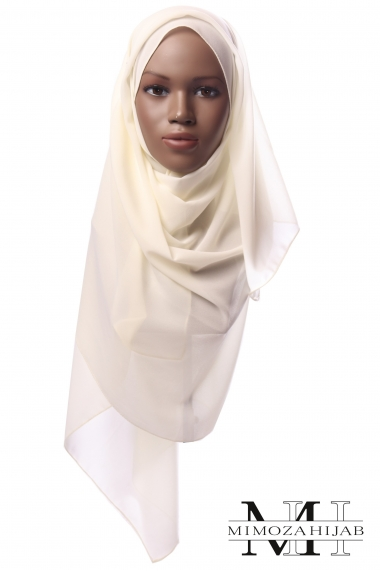 Nissa 175 rectangle chiffon hijab