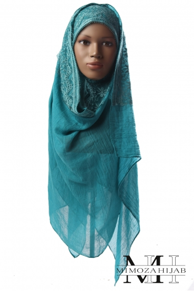 Maxi Classic Hijab with Lace