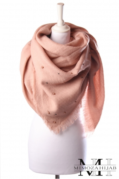 Perly square scarf