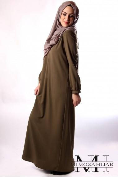 Abaya robe longue Atemporelle