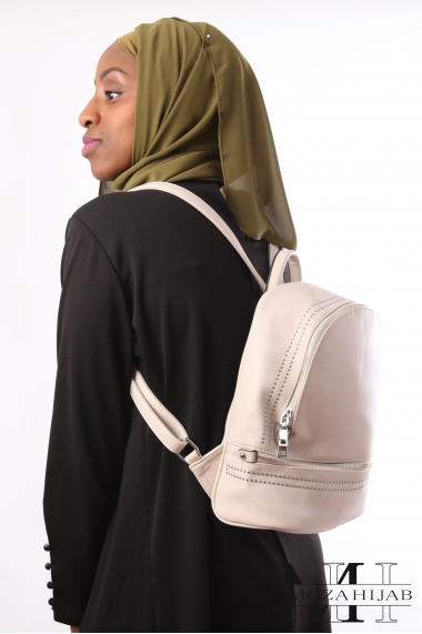 SOFY backpack with small silver nail