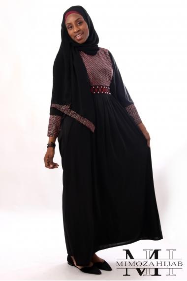 Abaya Zayanne papillon de dubaï