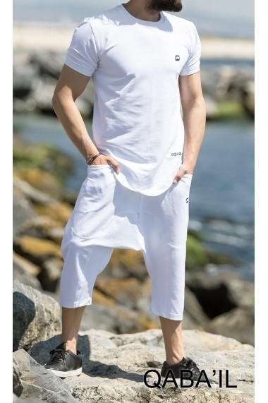 Set Nautik t-shirt and Capri pants for men Qabail 2018