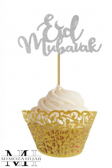 10 Eid Mubarak Spades for Cupcakes and Pastries