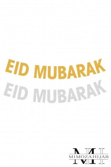 Guirlande décoration EID MUBARAK fête musulmane