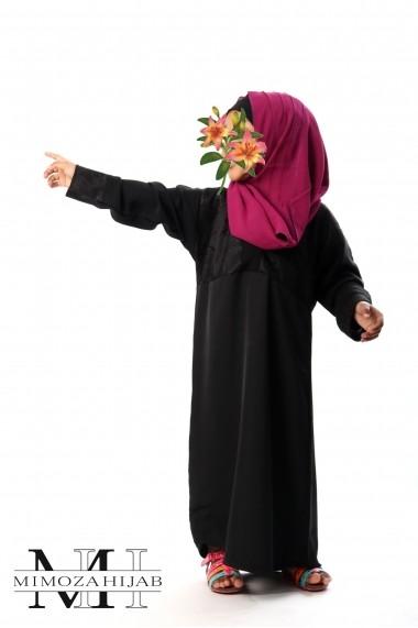 Robe DAYA abaya pour fille style kimono