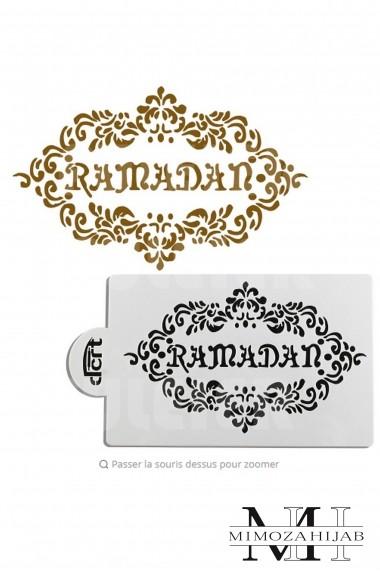 Stencil for Ramadan special cakes