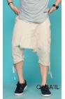 Qaba'il multi-pocket shorts