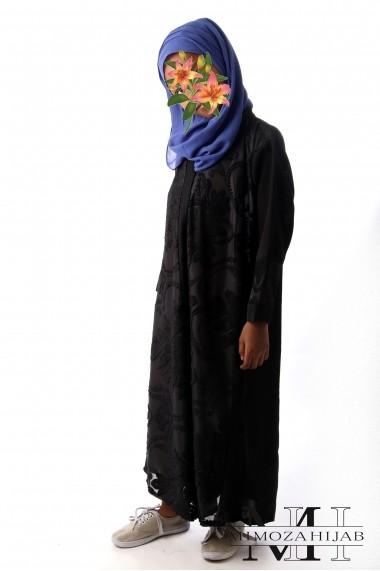 Kimono DINA pour fille Tulle et broderie