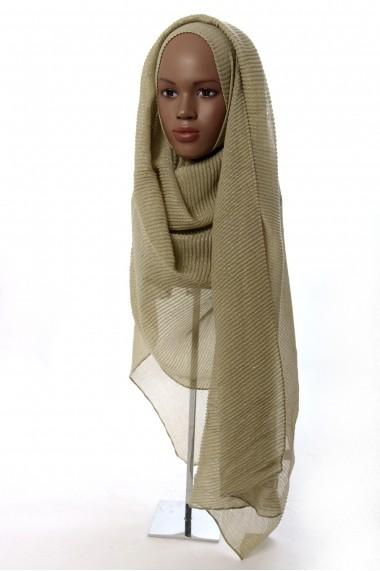 Hijab Fil d'or