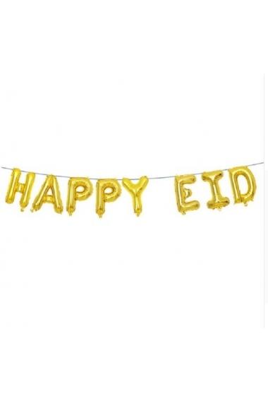 Ballons gonflables Happy Eid décoration de fête musulmane