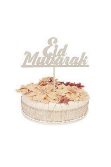 Eid mubarak topper for muslim pastry