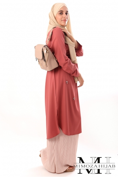 Takura long tunic
