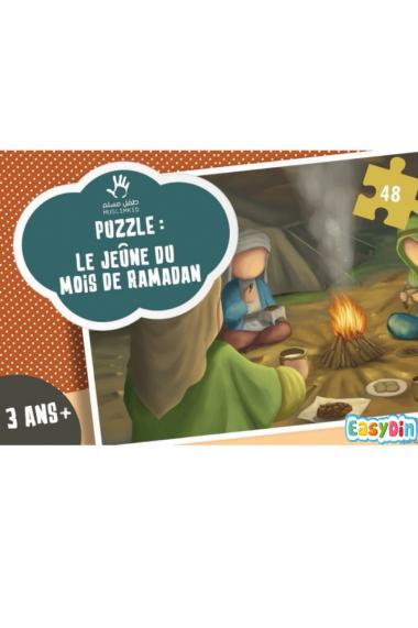 Puzzle sur le jeune du Ramadan - (As siyam) pour les 3 ans et +
