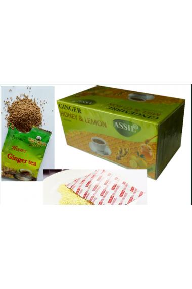 Assil tea ginger honey and lemon