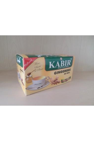 Thé KABIR gingembre au miel