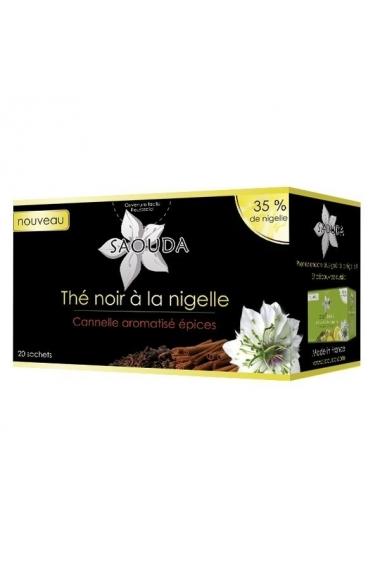Black tea with nigella Saouda