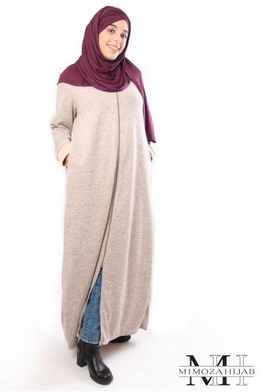 Robe Rimel winter zippée