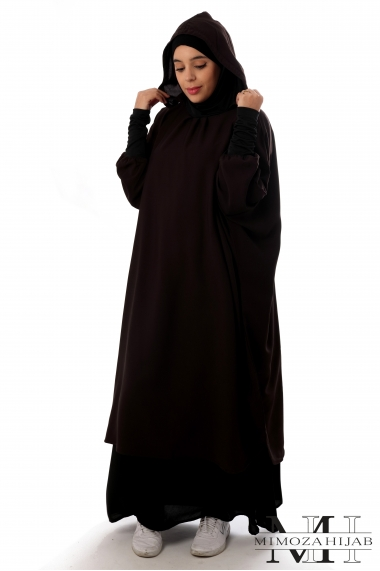 Jilbab Julianne with hood and skirt