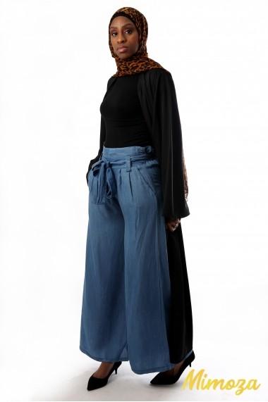Belt jeans palazzo