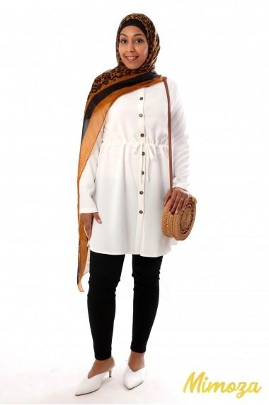 Tahira buttoned tunic