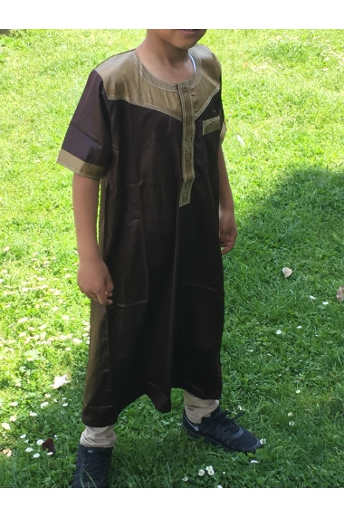 Qamis child short sleeve Hannawi