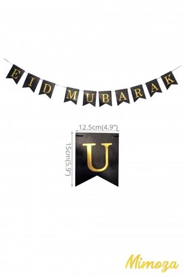Eid Mubarak pennant banner