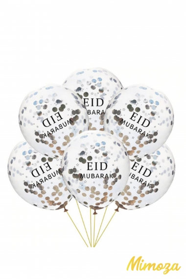 Confetti ball eid mubarak