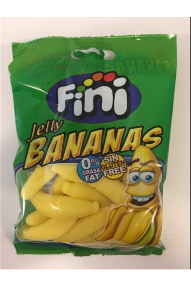 Finished halal banana candy