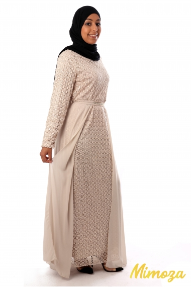 Rahmiye dress with sequin