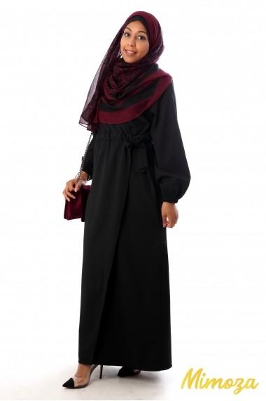Abaya Alicia cache-coeur