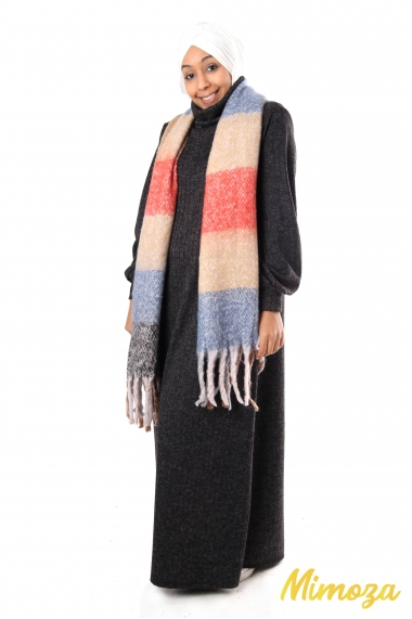 Rectangular Edicya scarf