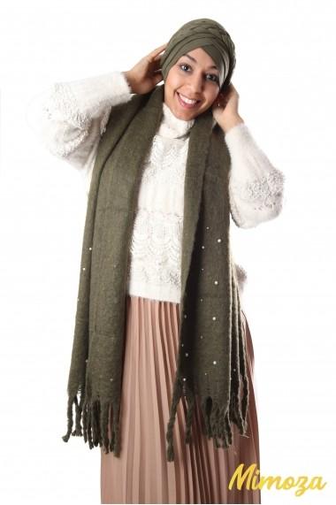 Rectangular Perly scarf