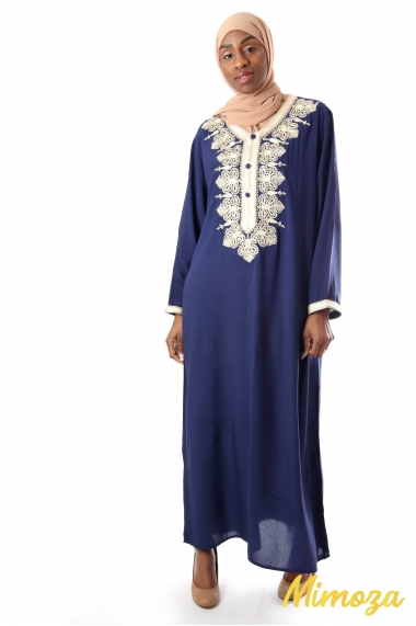 Lina long dress Abaya