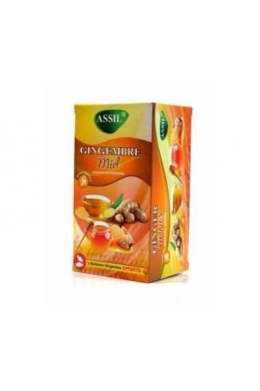 ASSIL Ginger Honey Tea