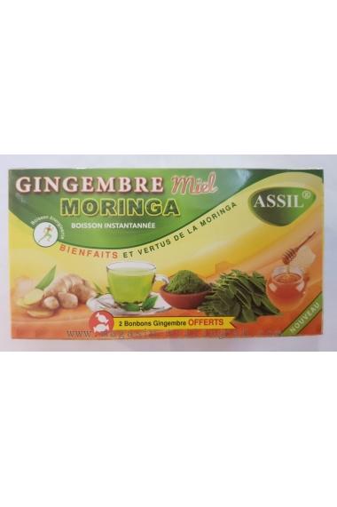 Assil Ginger Honey Moringa Tea