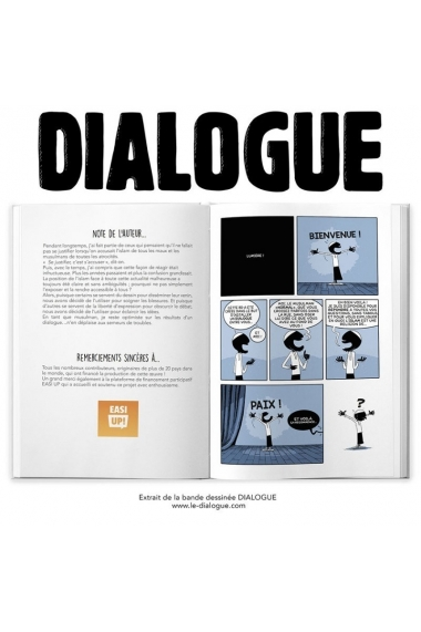 DIALOGUE - TOME 1 - BDOUIN (BANDE DESSINÉE PARTICIPATIVE)