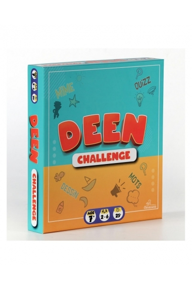DEEN CHALLENGE - EDUCATIONAL GAME (500 QUESTIONS) - OSRATOUNA