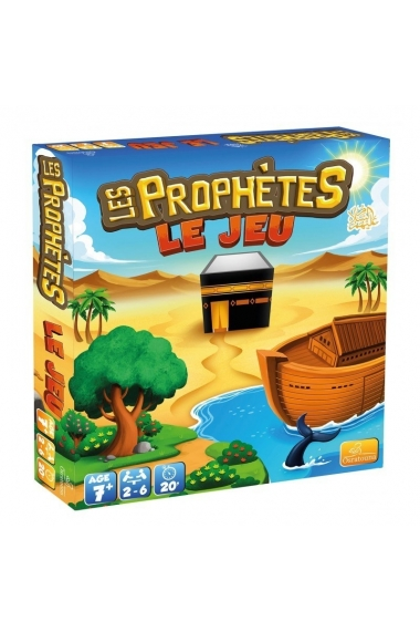 PROPHETS, THE GAME - 400 QUESTIONS AND CHALLENGES! (FROM 7 YEARS OLD) - OSRATOUNA